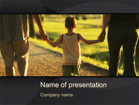 People: Son Of A Family PowerPoint Template #09835