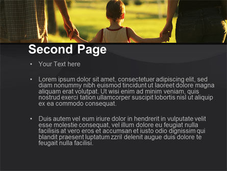Son Of A Family PowerPoint Template, Slide 2, 09835, People — PoweredTemplate.com