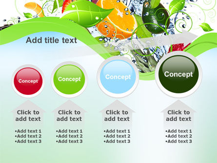 Summer Fruits PowerPoint Template Slide 13