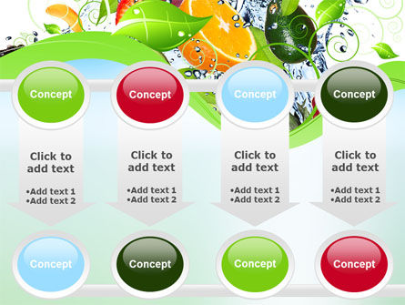 Summer Fruits PowerPoint Template Slide 18