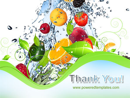 Summer Fruits PowerPoint Template Slide 20