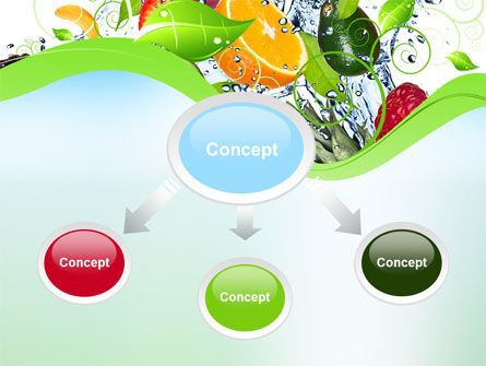 Summer Fruits PowerPoint Template Slide 4