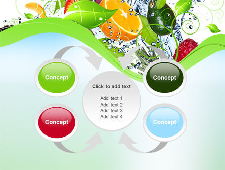 Summer Fruits PowerPoint Template Slide 6