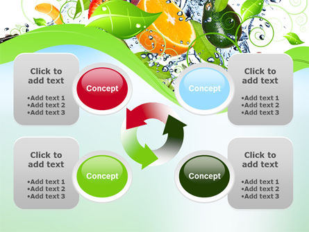 Summer Fruits PowerPoint Template Slide 9