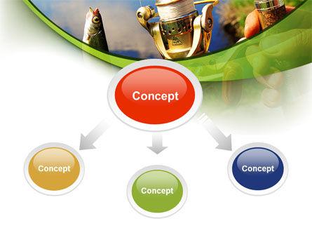 Summer Fishing PowerPoint Template, Slide 4, 09837, Health and Recreation — PoweredTemplate.com