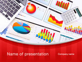 Financial/Accounting: Various Diagrams PowerPoint Template #09839