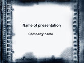 Abstract/Textures: Vintage Filmstrip PowerPoint Template #09840