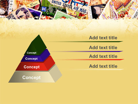 Philatelism PowerPoint Template Slide 12