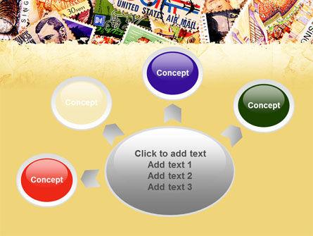 Philatelism PowerPoint Template Slide 7