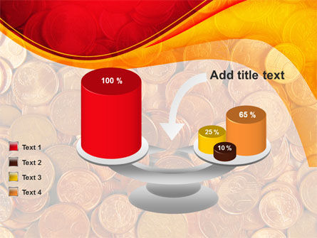A Pile Of Gold Coins PowerPoint Template Slide 10