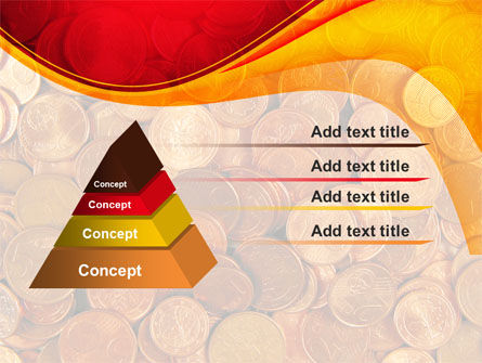 A Pile Of Gold Coins PowerPoint Template Slide 12