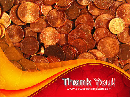 A Pile Of Gold Coins PowerPoint Template Slide 20