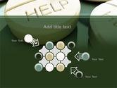 Emergency Medicamental Help PowerPoint Template#10