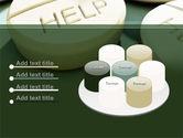 Emergency Medicamental Help PowerPoint Template#12