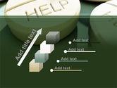 Emergency Medicamental Help PowerPoint Template#14