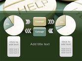 Emergency Medicamental Help PowerPoint Template#16