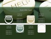 Emergency Medicamental Help PowerPoint Template#18