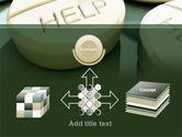 Emergency Medicamental Help PowerPoint Template#19