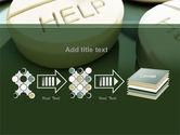 Emergency Medicamental Help PowerPoint Template#9