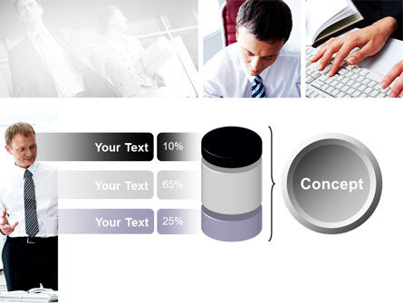 Day At The Office PowerPoint Template Slide 11
