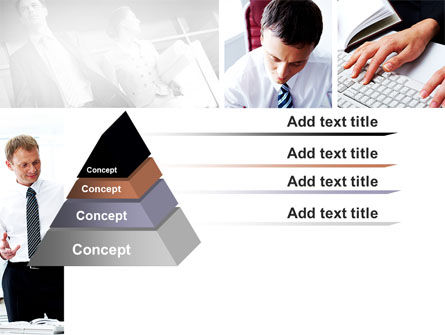 Day At The Office PowerPoint Template Slide 12