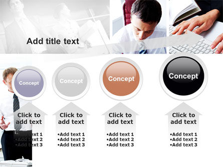 Day At The Office PowerPoint Template Slide 13