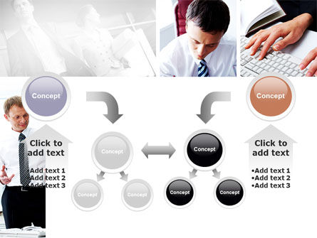 Day At The Office PowerPoint Template Slide 19