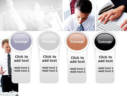 Day At The Office PowerPoint Template Slide 5