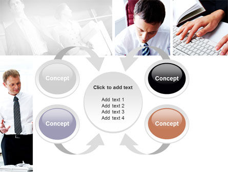 Day At The Office PowerPoint Template Slide 6