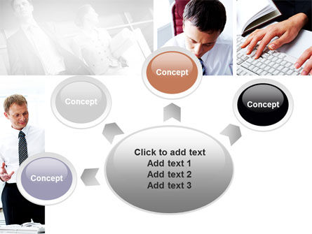 Day At The Office PowerPoint Template Slide 7