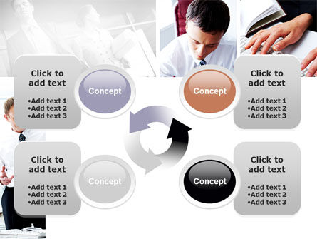 Day At The Office PowerPoint Template Slide 9