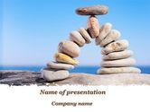 Nature & Environment: Templat PowerPoint Lengkungan Batu Di Pantai #09855