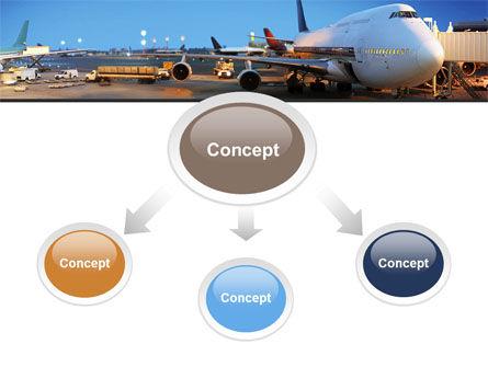 Airport Service PowerPoint Template, Slide 4, 09856, Cars and Transportation — PoweredTemplate.com