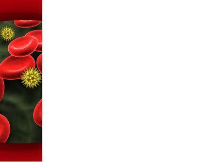 Virus In Blood Stream PowerPoint Template, Slide 3, 09857, Medical — PoweredTemplate.com