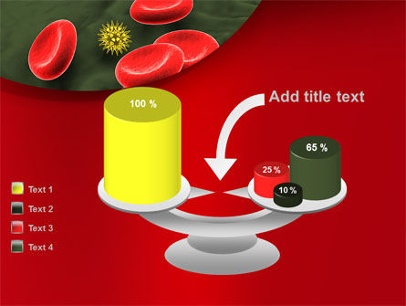 Virus In Blood Stream PowerPoint Template Slide 10