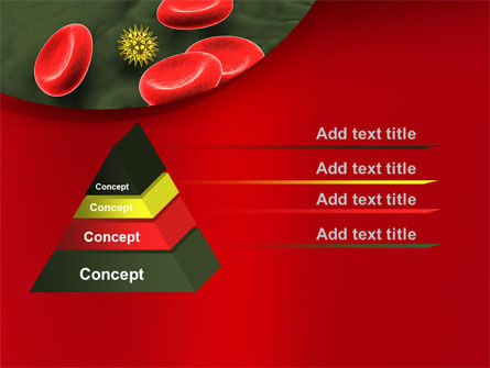 Virus In Blood Stream PowerPoint Template Slide 12