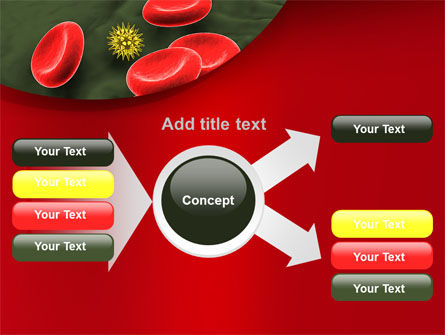 Virus In Blood Stream PowerPoint Template Slide 14