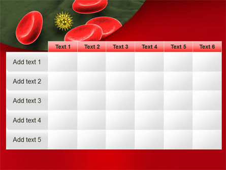 Virus In Blood Stream PowerPoint Template Slide 15