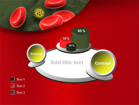 Virus In Blood Stream PowerPoint Template Slide 16