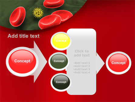 Virus In Blood Stream PowerPoint Template Slide 17