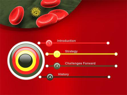 Virus In Blood Stream PowerPoint Template Slide 3