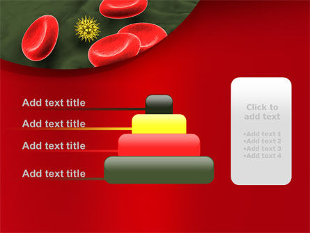 Virus In Blood Stream PowerPoint Template Slide 8