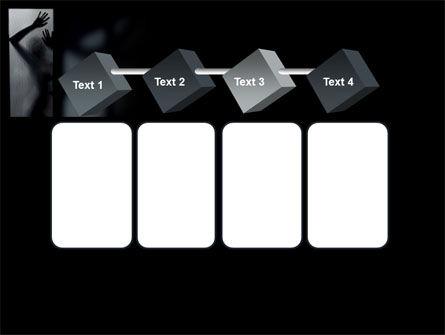 Silhouette Of Naked Girl PowerPoint Template Slide 18