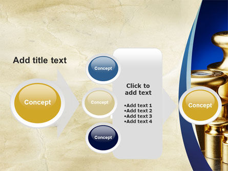 A Set Of Weights PowerPoint Template Slide 17