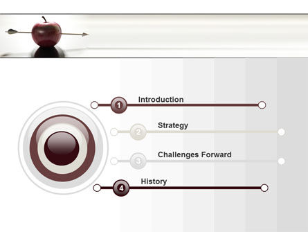 Apple Of William Tell PowerPoint Template Slide 3
