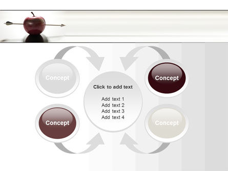 Apple Of William Tell PowerPoint Template Slide 6
