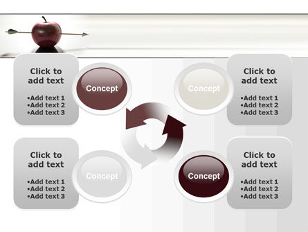 Apple Of William Tell PowerPoint Template Slide 9