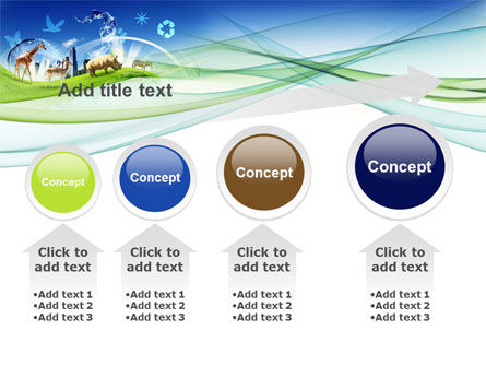 Ecological Balance Between Various Types Of Life PowerPoint Template Slide 13