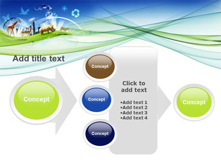 Ecological Balance Between Various Types Of Life PowerPoint Template Slide 17