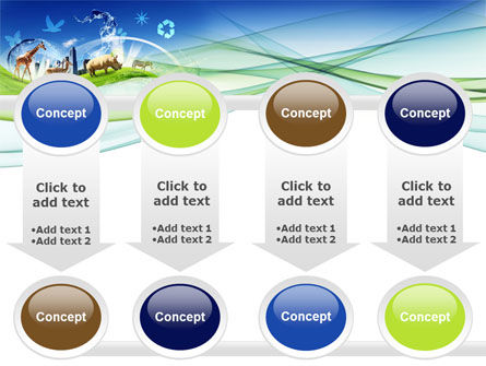 Ecological Balance Between Various Types Of Life PowerPoint Template Slide 18